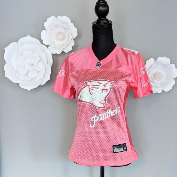pink carolina panthers jersey